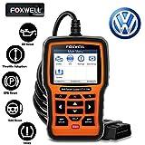 FOXWELL NT510 Elite Automotive Code Reader for VAG Full Systems Diagnostic Scanner on VW Audi Seat Skoda OBD2 Car Scan...