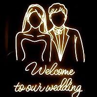 暖かい ネオンサインは、LEDネオンライトは、装飾的なネオンサインは、結婚式や誕生日のために適しています 寝室 (Ausstrahlen von Farbe : 80cm Width)