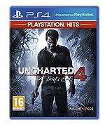 Uncharted 4 - PlayStation Hits, Version physique, En français, Mode multijoueur, 1 Joueur