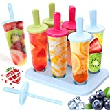 Molde de Helado, Pop Ice Lolly Mould Maker Frozen Dessert Popsicle Moldes para Paletas Fácil de...