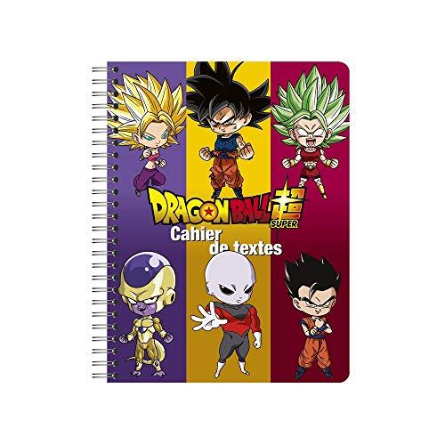 Dragon Ball Super - Cuaderno de texto (17 x 22 cm),...
