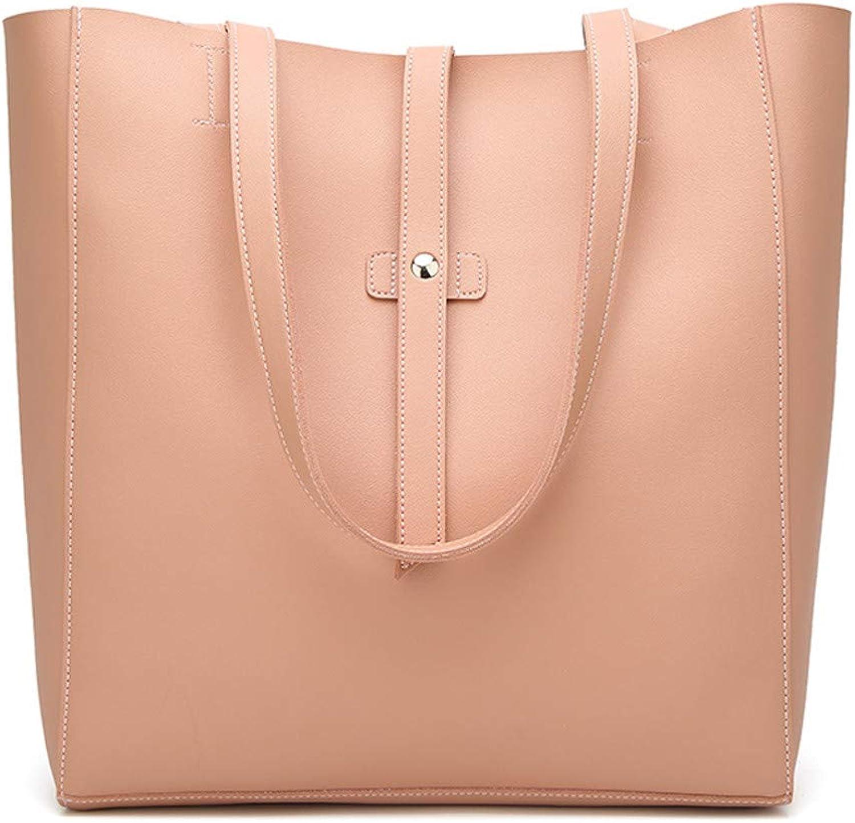COPPEN Women Shoulder Bag Hand Bag Outdoor Leather Zipper Solid color