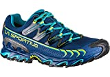 La Sportiva Ultra Raptor GTX, Zapatillas de Trail Running para Hombre, Multicolor (Indigo/Apple Green 000), 41 EU