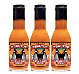 [Pack of 3] [Super Hot] Wing Time Buffalo Wing Sauce - 13 Fl Oz