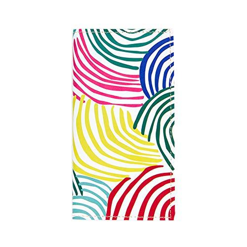 Westeng Notitieboekjes en dagboek, avontuurboek, dagboek, notitieblok, leer, kleur album reis, schoolkalender, dagkalender, gekleurde bubbels 20.2cm*11.5cm Cercle coloré