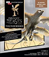 IncrediBuilds: Fantastic Beasts and Where to Find Them: Thunderbird Book and 3D Wool Model