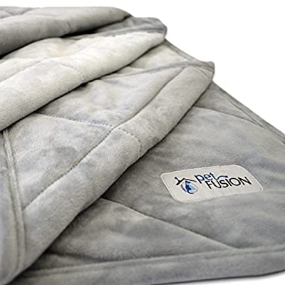 "PetFusion Premium Plus Quilted Dog Blanket (53x42""). Light Inner Fill 70GSM by PetFusion"
