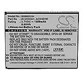 vhbw Li-ION Batterie 1500mAh (3.7V) pour téléphone Portable Mobil Smartphone Archos 50 Helium 4G, 50e Helium, 50e Helium 4G