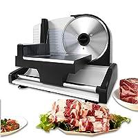 多機能肉スライサーマシン、電気半自動冷凍肉スライサーホーム200W、野菜トースト焼きたての肉スライサー1-15mm