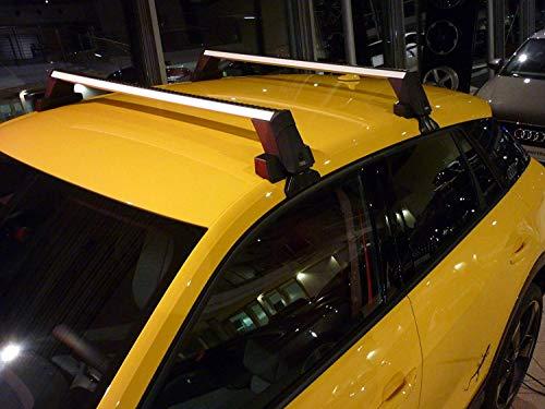 Audi 81A071126 Grundträger-Satz für Q2 ohne Dachreling