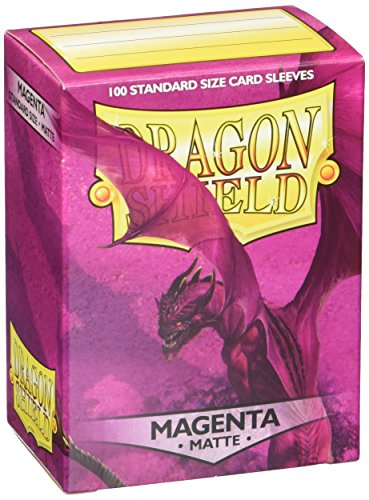 Dragon Shield Matte Sleeves - Magenta(100 ct)
