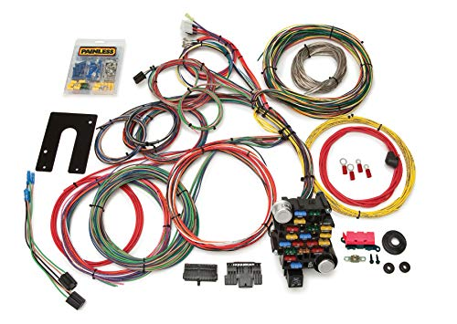 Painless Performance 10201 Classic-Plus Customizable Chassis Harness - GM Keyed Column - 28 Circuits