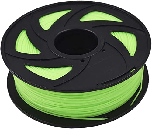 high quality ABS outlet online sale 3D Printer Filament - 2.20 lb high quality (1 kg) The Diameter of 1.75 mm, Dimensional Accuracy ABS Multiple Color (Luminous Green) sale