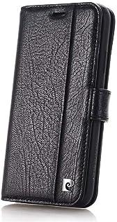 Pierre Cardin Lederen Bookcase Hoesje iPhone XR - Zwart