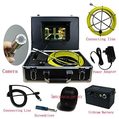 SHIJING 30M waterdichte camera buis afwatering detectiesysteem 7