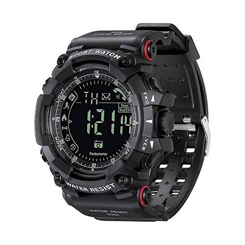 FUNBS Reloj Inteligente Bluetooth, Relojes Inteligentes en Funcionamiento, Reloj Deportivo Impermeable al Aire Libre, Relojes de Pulsera multifuncionales, Padre