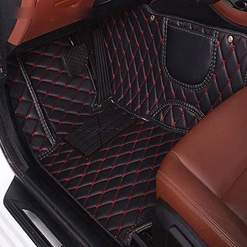 ZYDSD Cuero Personalizado del Piso del Coche Mat for Suzuki Ignis Swift 2008 Grand Vitara 2007 Wagon R Jimny Accesorios Alfombras Tapetes para Autos SUV camión y camioneta (Color : Black beige1 pcs)