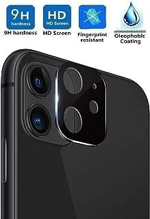 REY Protector de Pantalla 3D para Cámara Trasera de iPhone 11 Plata Cristal Vidrio Templado Premium 3D / 4D / 5D