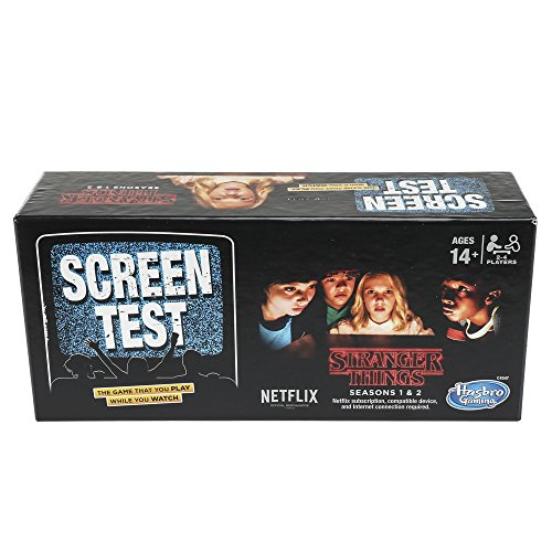 Hasbro Board Gaming Stranger Things Screen Test Card Game