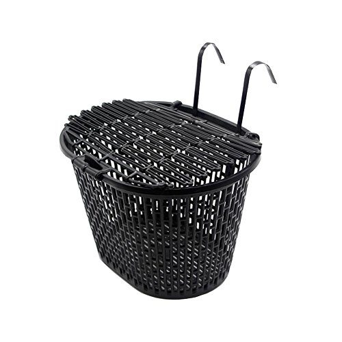 Check Out This East Majik Hanging Front Bike Basket for Riding