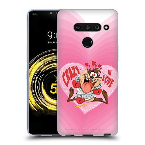 Head Case Designs Oficial Looney Tunes Diablo de Tasmania en el Amor Temporada Carcasa de Gel de Silicona Compatible con LG V50 ThinQ 5G