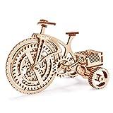 Wood Trick - Bicicleta - Puzzle 3D madera - Rompecabezas adultos - Ensamblaje sin pegamento - 89 piezas