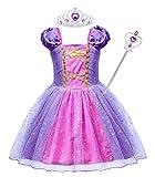 AmzBarley Vestito da Principessa Bambina Carnivel Cosplay Costume Ragazza Abito Vestiti Festa Compleanno Halloween Natale