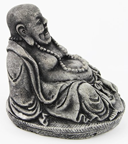 Laughing Buddha Home and Garden Statues Concrete Figures