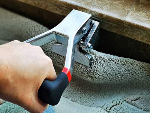 CUTTEREX Carpet Puller Clamp Pulling Claw for Pulling Carpet During Installation or Removal