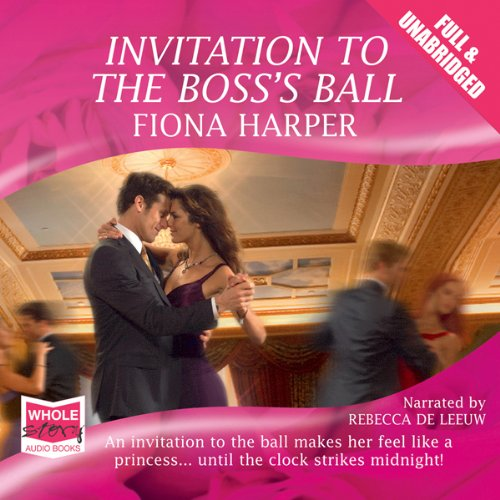 Invitation to the Boss's Ball audiobook cover art