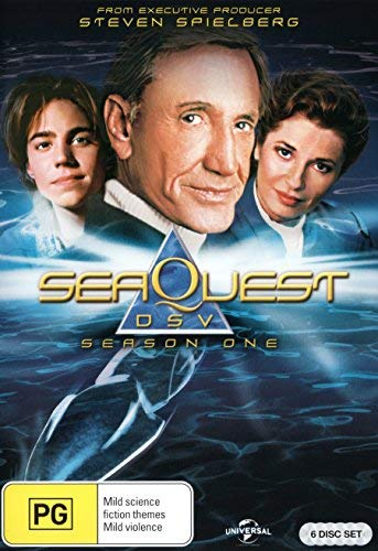 SeaQuest DSV - (Season 1)- 6-DVD Set ( SeaQuest 2032 ) ( Sea Quest Seasons 1 ) [ Origen Australiano, Ningun Idioma Espanol ]