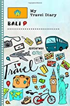 Bali My Travel Diary: Kids Guided Journey Log Book 6x9 - Record Tracker Book For Writing, Sketching, Gratitude Prompt - Vacation Activities Memories Keepsake Journal - Girls Boys Traveling Notebook