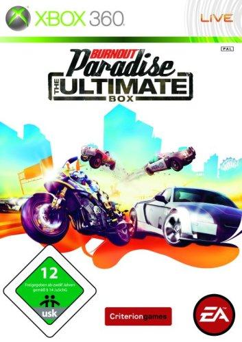 Electronic Arts Burnout Paradise - Juego (Xbox 360, DEU)