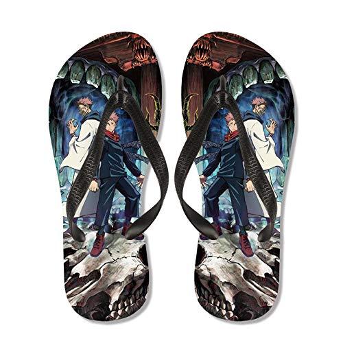 KaO0YaN Chanclas híbridas brasileñas unisexChanclas de Verano, Sandalias caseras sin Deslizamiento, Zapatos de Playa Unisex-1_EU41 = (26.5cm)