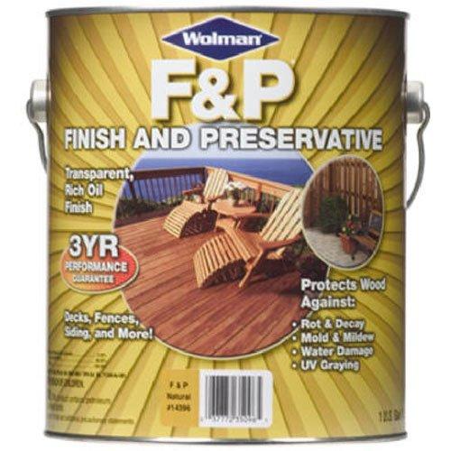 RUST-OLEUM 14416 Wood Preservative, Browns