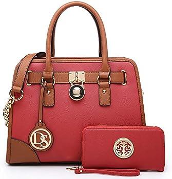2-Pack Dasein Women's Handbags Set