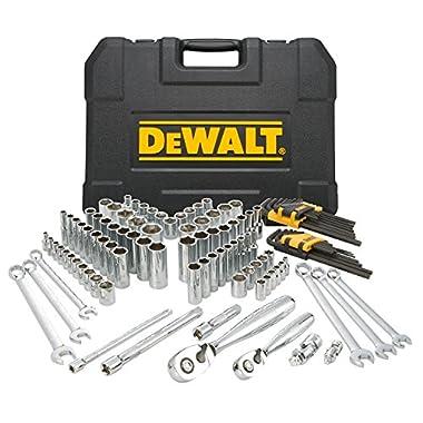 DEWALT DWMT72163 118 Piece Mechanics Tool Set