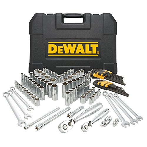 pc mechanics DEWALT Mechanics Tools Kit and Socket Set, 118-Piece (DWMT72163)