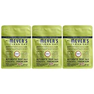 Mrs. Meyer's Clean Day Automatic Dishwasher Pods, Cruelty Free Formula Dish Soap Tablets, Lemon Verbena Scent, 20 Count - Pack of 3 (60 Total Pods)