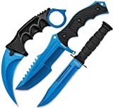 Black Legion UNCBV391 Knife Blade, Blue