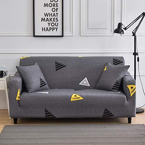 Juego de funda elástica para sofá de sala de estar y toallas, fundas de sofá antideslizantes para mascotas, funda de sofá Strech A17 de 2 plazas