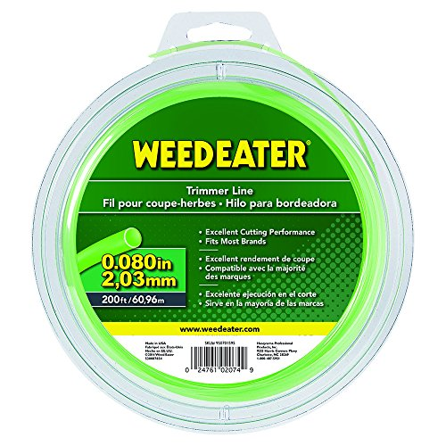 Weed Eater string trimmer line .080 200ft spool
