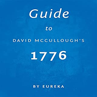 Guide to David McCullough's 1776 audiobook cover art