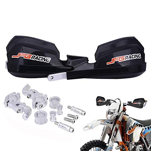 Protege Main Moto Protege Main Moto Cross Protege Main k.T.M pour Dirt Bike K.T.M h.o.n.d.a Yamaha Kawasaki Suzuki Motocross Enduro Supermoto-Noir