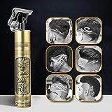 Tagliacapelli 2020 nuovo aggiornato rasoio professionale da uomo T-Outliner tagliacapelli USB ricaricabile per salone di parrucchiere elettrico a T blade per uomini