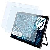 Bruni Schutzfolie kompatibel mit Wortmann Terra Pad 1162 Folie, glasklare Bildschirmschutzfolie (2X)