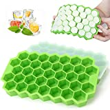 Best Ice Cube Trays - Ice Cube Trays - MOMSIV 2 Pack Silicone Review
