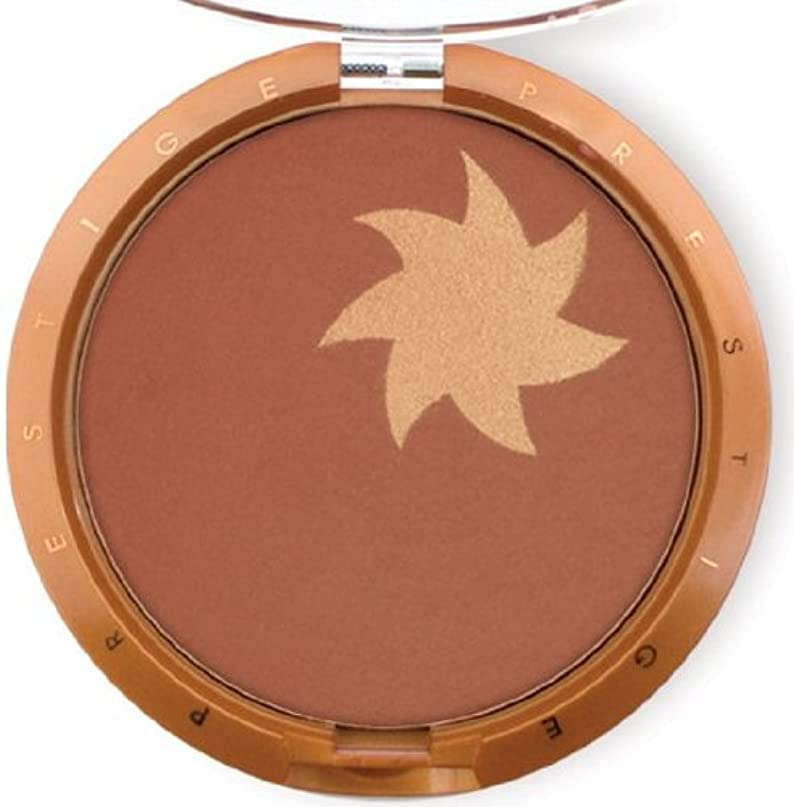 耐久除外する奇跡的なPrestige Cosmetics Sunflower Illuminating Bronzing Powder