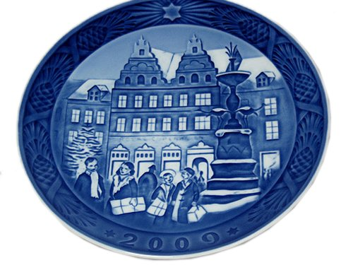 Royal Copenhagen Collectibles Christmas Plate 2009