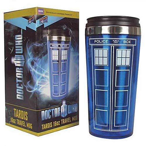Mug Tasse Becher Kaffee Doctor Dr. Who TardisKaffeetasseMit DeckelKaffeeflascheEdelstahlInnenbecher 450Ml Kreative Geschenke